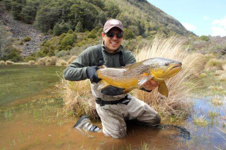 Vacanza di pesca in Nuova Zelanda