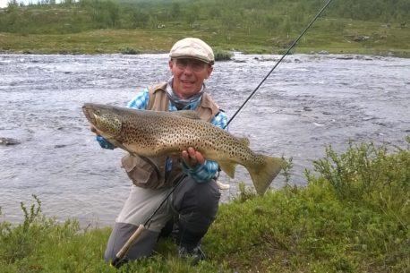 viaggio di pesca Lapponia