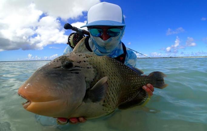 vacanza di pesca in Micronesia