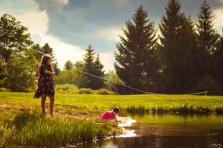Viaggio di pesca in Lapponia per famiglie