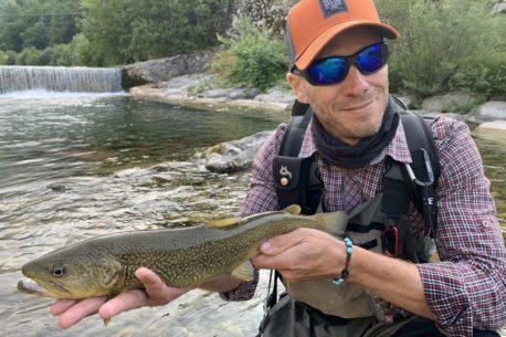 viaggi di pesca in Friuli con corso di pesca per ragazzi