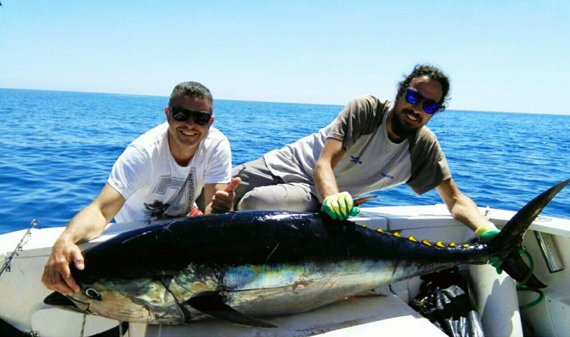 Charter di pesca nel Golfo Gaeta