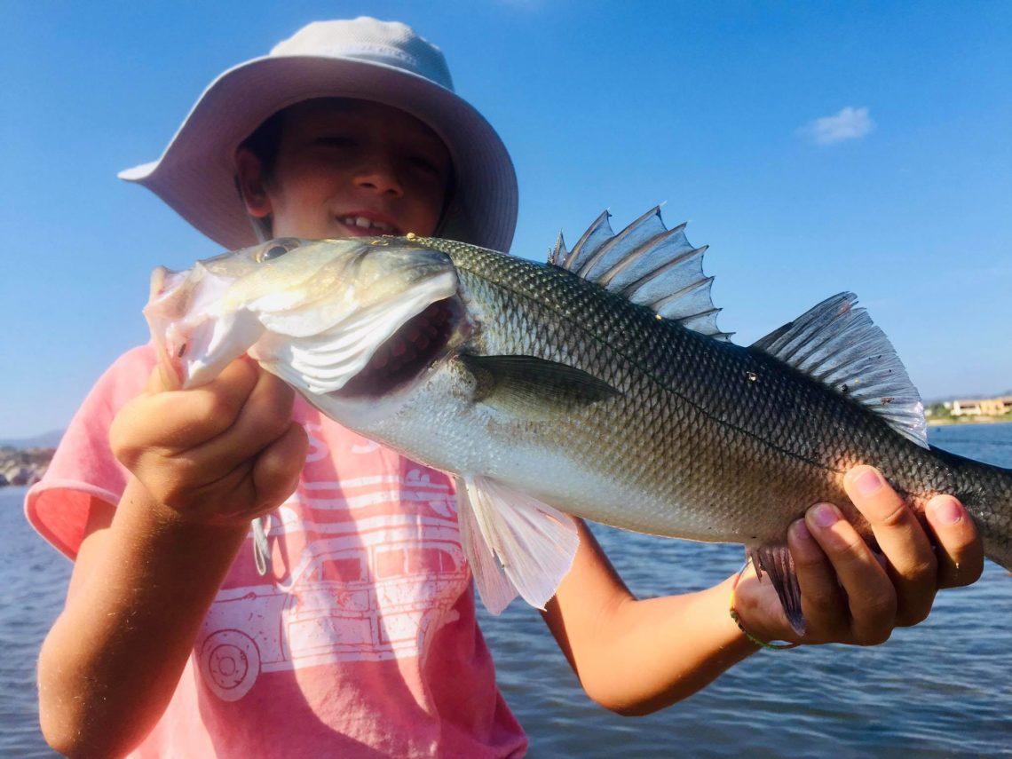 pesca spinning per ragazzi